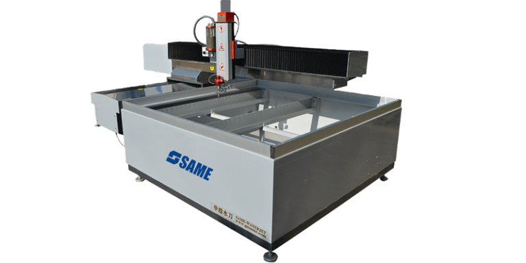 Small cantilever waterjet machine
