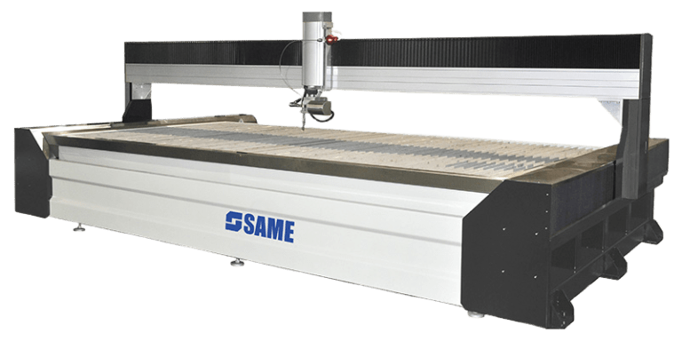 table of Gantry type water jet cutter