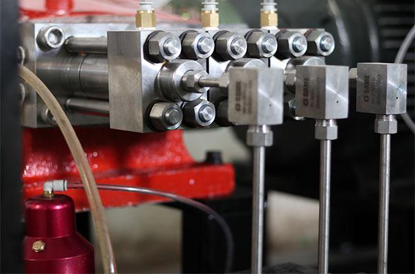 Direct Drive Pump of Water Jet Cutter Machine