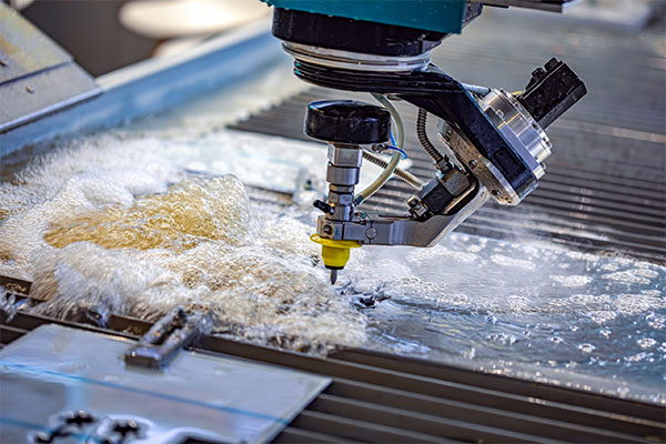Waterjet Cutting Glass material