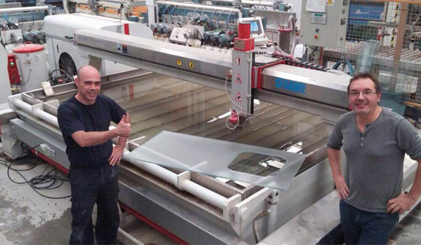High praise from customers for SAME waterjet