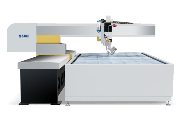 Cantilever 4020 table for water jet cutting
