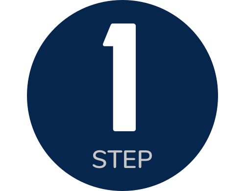 icon step 1