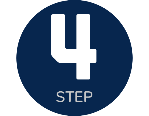 icon step 4