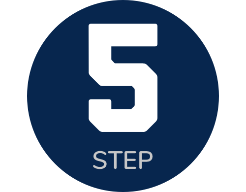 icon step 5