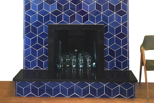 Fireplace-tile-mosaic-project