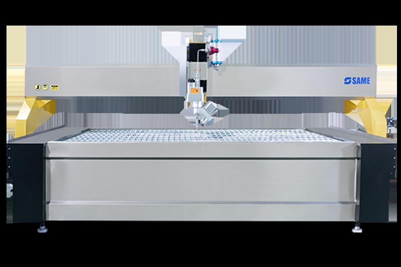 G3020 ac5 máquina de corte por chorro de agua con eje