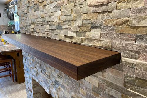 Granite-shelves