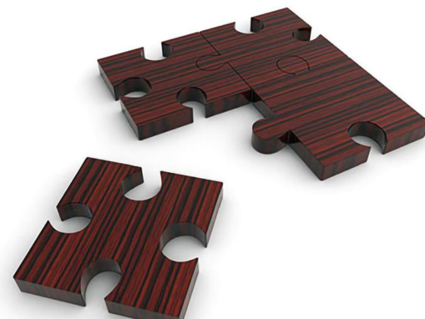 Samples of water jet cutting wood (4)