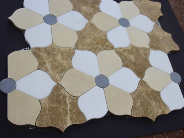 Samples of waterjet cutting marble (6)