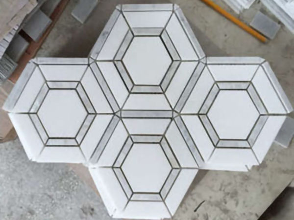 Samples of waterjet cutting marble (7)