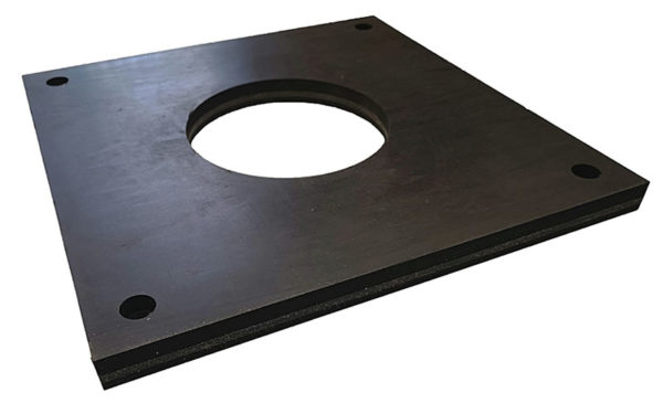 Samples of waterjet cutting rubber (1)