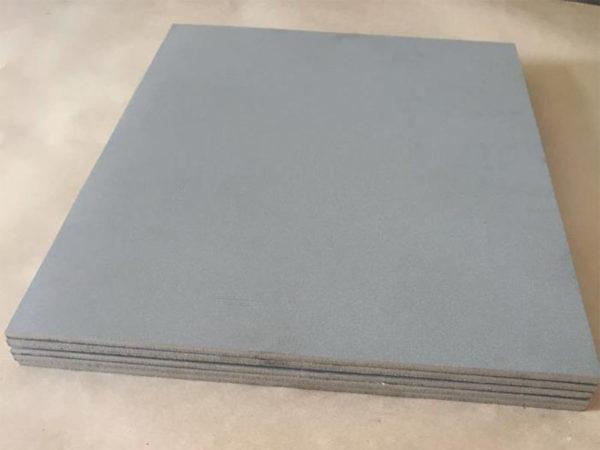Samples of waterjet cutting titanium (2)