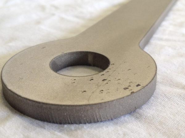 Samples of waterjet cutting titanium (5)