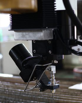 Demonstration of OAB 5-axis cutting head