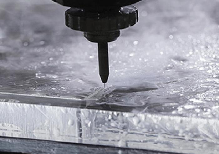 Waterjet Cutting steel
